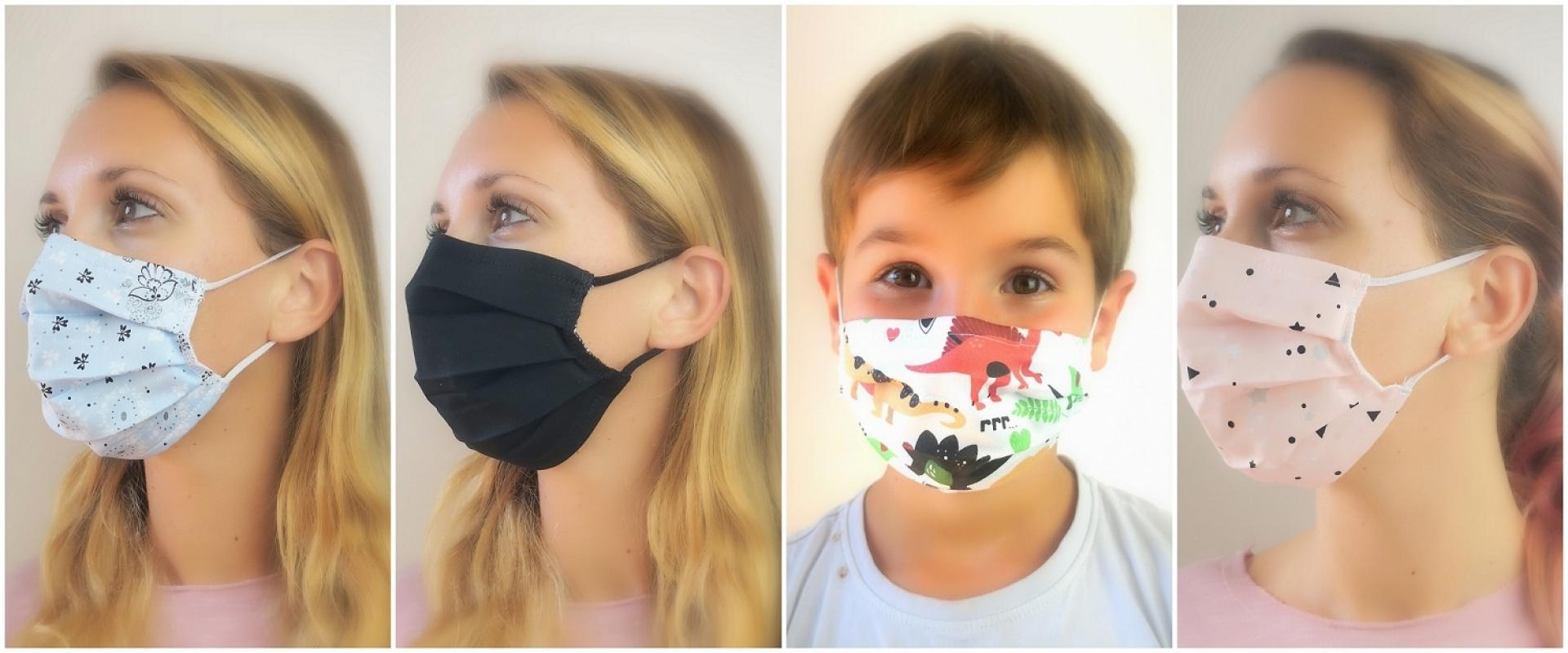 Naključne pralne maske